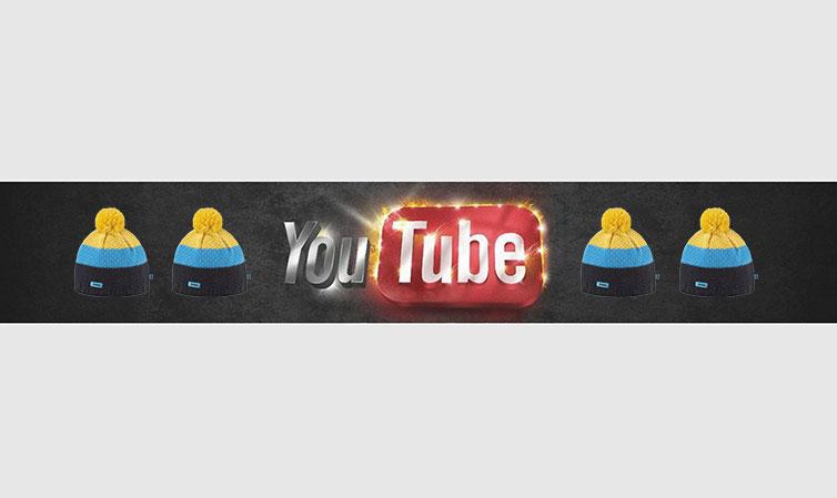 Шапка для Ютуб-канала