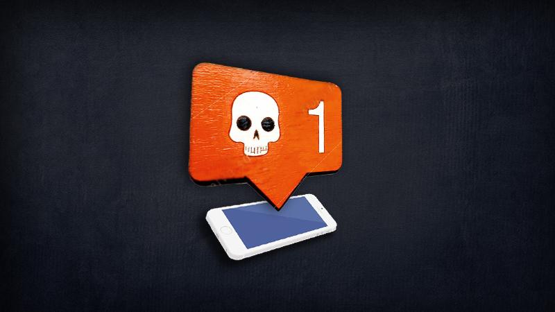 Темная сторона социальных сетей